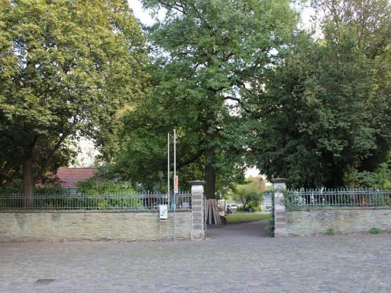 Soest - Zugang zum Theodor-Heuss-Park vom Schweinemarkt