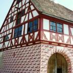 Amtshaus in Obernbreit ( Landkreis Kitzingen )