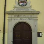 Portal des Julius-Echter-Stifts Röttingen