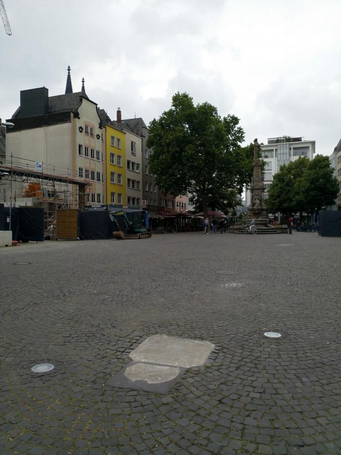 Köln Alter Markt 9. Juni 2020