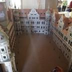 Sgraffiten im Schlosshof