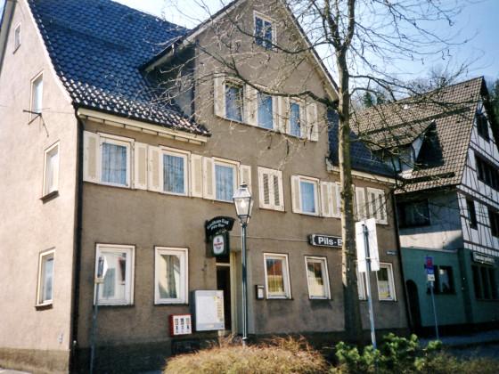 eheml. Gebäude Obertorplatz, Oberndorf am Neckar Frühling 2003