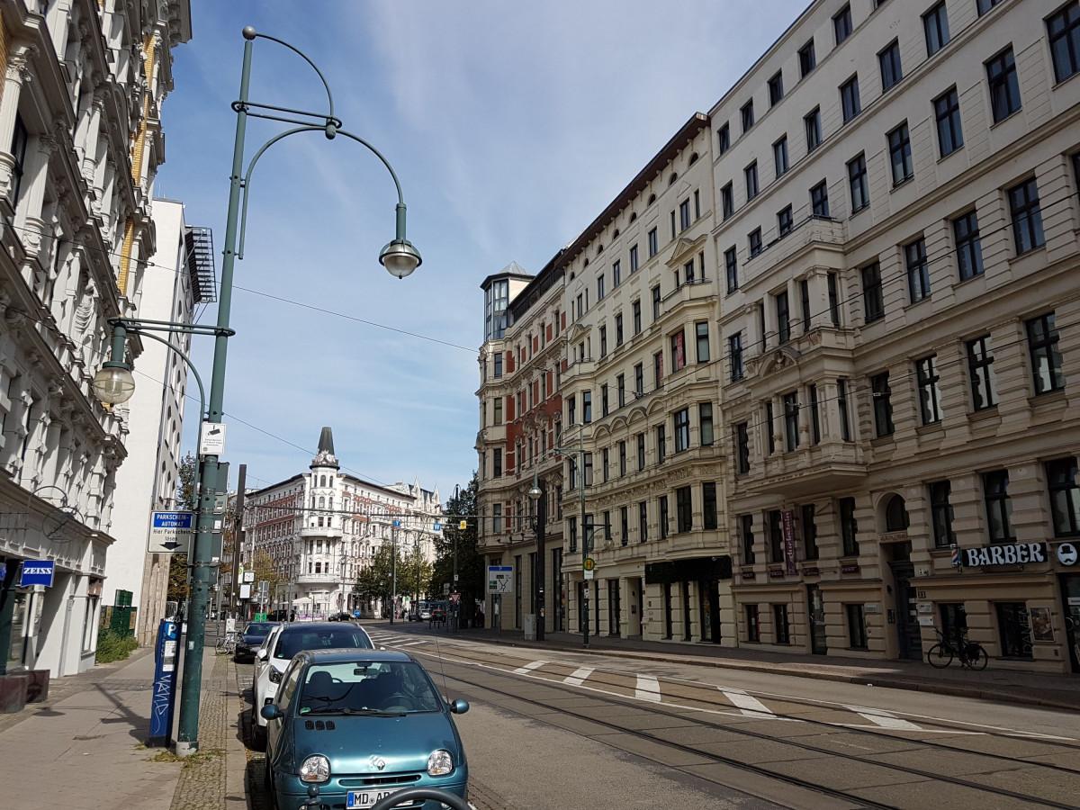 Magdeburg Umfeld Hasselbachplatz 2020
