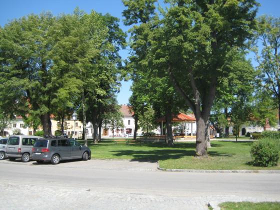 Marktplatz in Hadersdorf