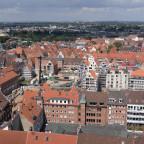 Luftbild Gründungsviertel von der Petrikirche