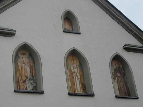 Detail Kirche St. Martin am 17. Sept. 2016