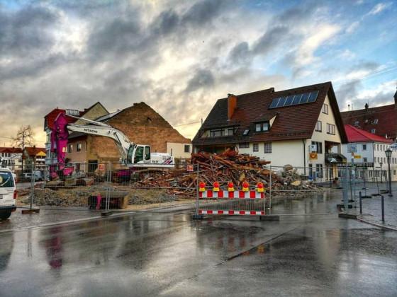 Abbruch Gasthaus Sonne Schömberg