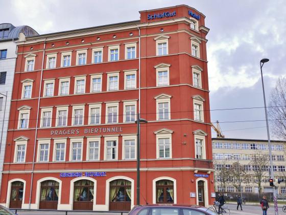 Der Pragers Biertunnel am Johannisplatz!