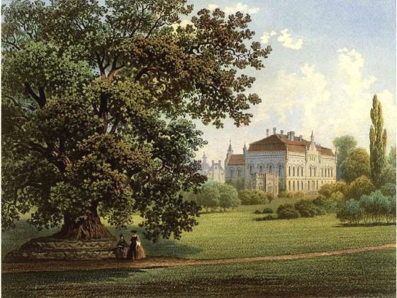 Nennhausen, um 1853
