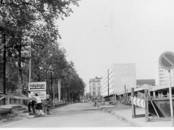 Hauptstraße Dresden, Mai 1976
