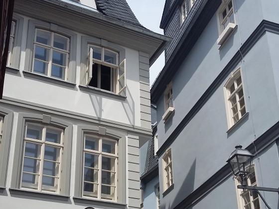 Frankfurt Hühnermarkt Tante Melber Fenster