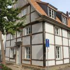 Jüngst saniertes Fachwerkhaus an der Wiesenkirche