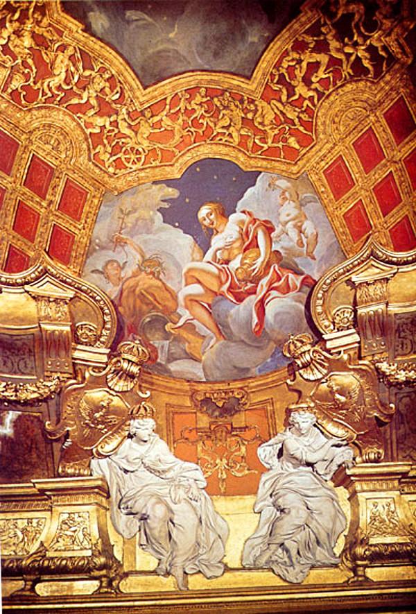 Schloss Berlin rotes Samtzimmer1944