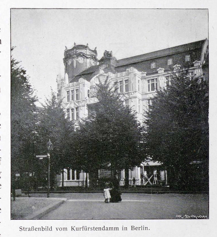 Berlin, Kurfürstendamm 1906