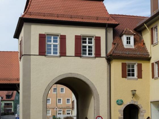 das Obere Tor - das einzig erhaltene von drei. Abgängig: Spitaltor 1818, Unteres Tor 1863