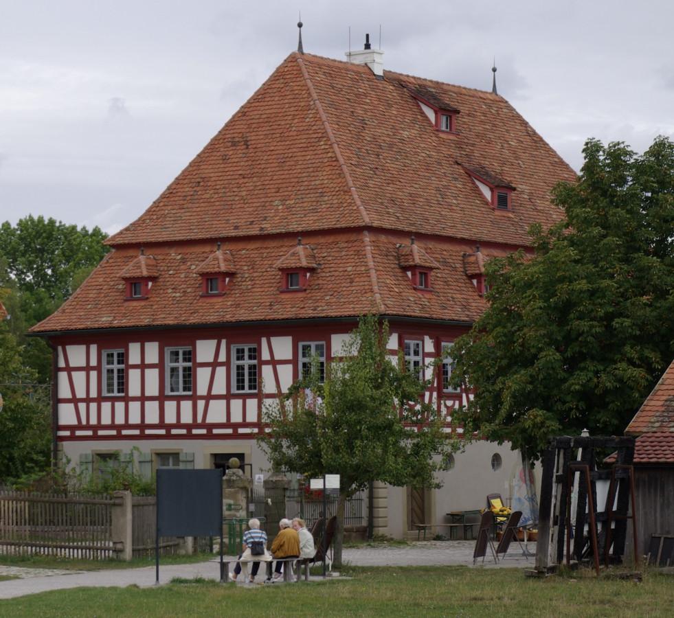 Museumsgasthaus aus Oberampfrach 1705