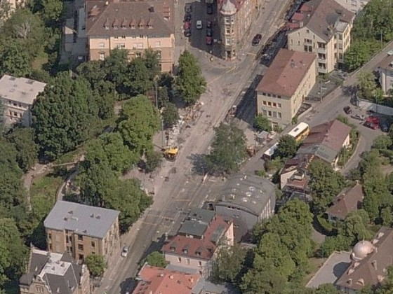 Stuttgart Galateabrunnen Übersicht