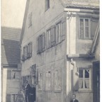 Vorderer Spitzenberg 15; Foto um 1900