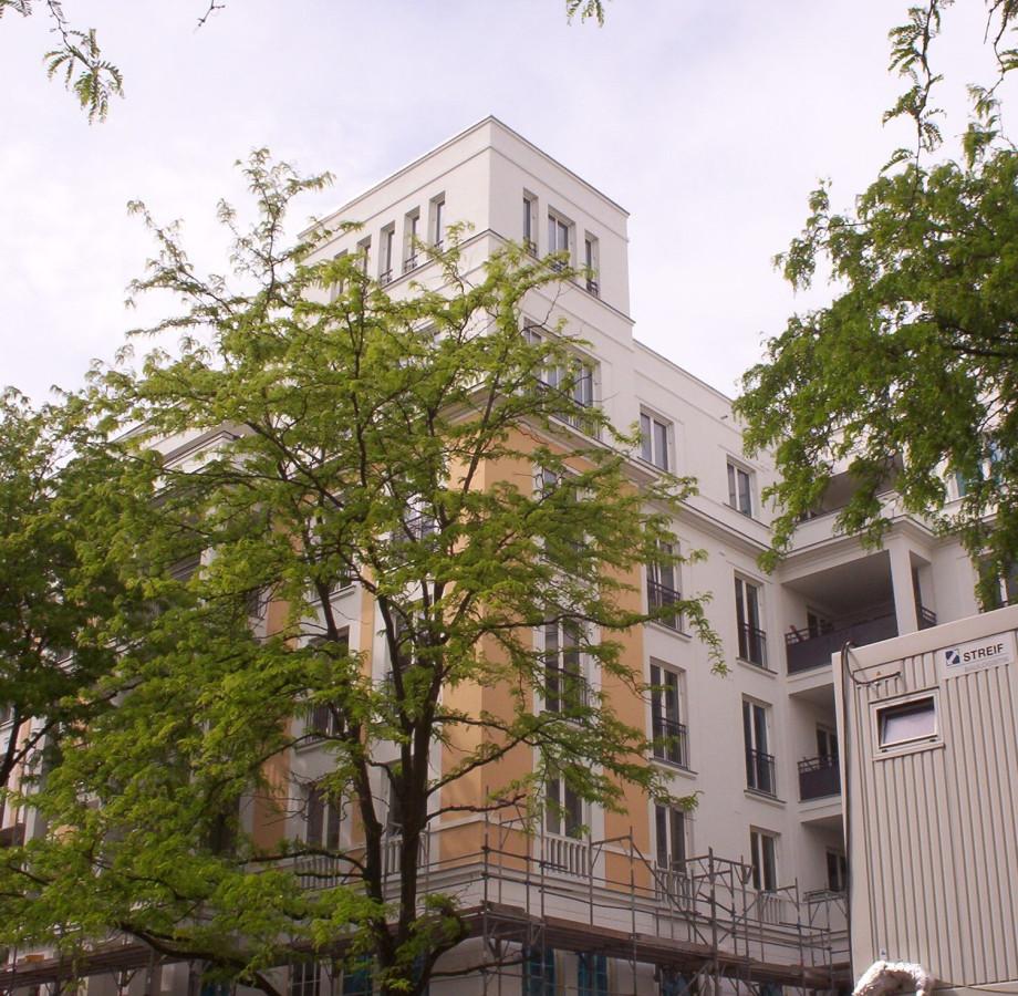 Gebäude der Patzschkes in der Berliner Pestalozzistrasse.
