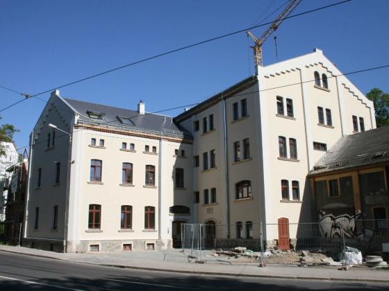 Leipzig-Gohlis Platnerstr Mühle nachher