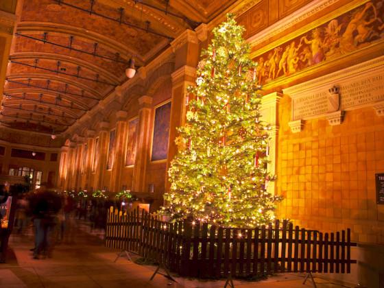 Trinhalle Baden-Baden zur Weihnachtszeit
