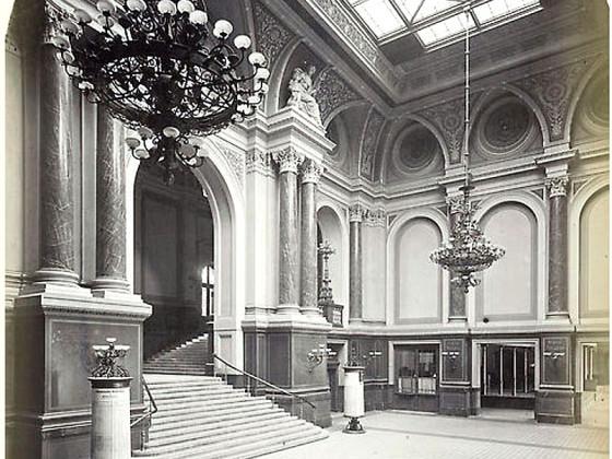 Berlin, Anhalter Bahnhof, Vestibül, 1920