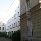 Leipzig Gustav-Mahler-Straße 20 Bauschild