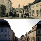 Schloss Neustrelitz Markt Schloßstraße 1910 vs 2018