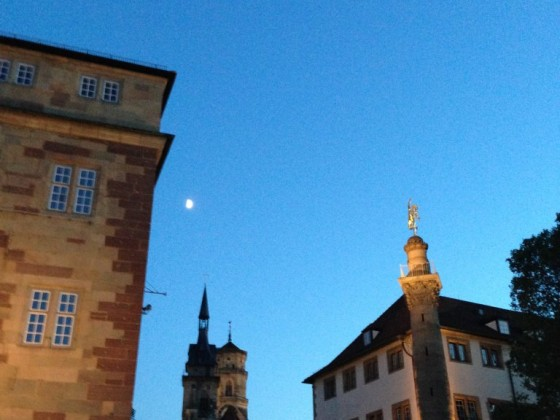 Blaue Stunde Stuttgart