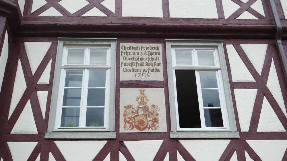 Fulda, Mollenhauerhaus, Bausubstanz der Nachkriegszeit