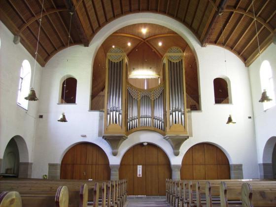 Orgel der Paul-Gerhardt-Kirche Stuttgart