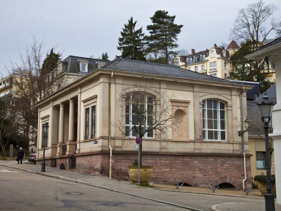 Synagoge Baden-Baden von Osten