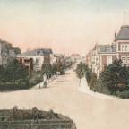 Neustrelitz Bahnhofsplatz Augustraße um 1900