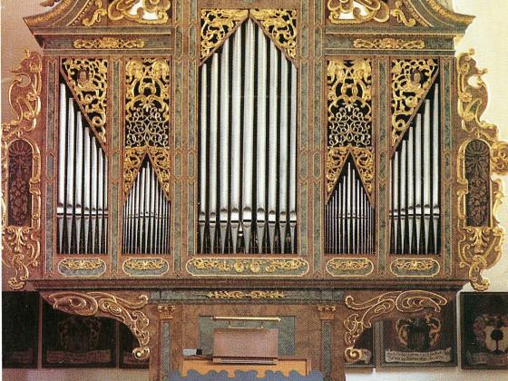 Orgel der Pfarkirche Aufkirchen/Mittelfranken