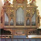 St. Joh. der Täufer Aufkirchen/Mittelfranken (Prospekt 1663, 1816 von Eichstätt nach Aufkirchen, Werk teilweise erhalten)