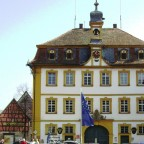 Rathaus Röttingen ( erbaut 1750 )