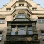 Leipzig Dittrichting 12 Diakonenhaus 1903 von Weidenbach + Tschamer Giebel