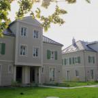 Eingangsseite der 4 Doppelhaushälften