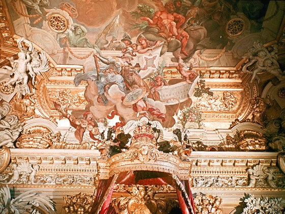 Schloss Berlin Rittersaal 1944f