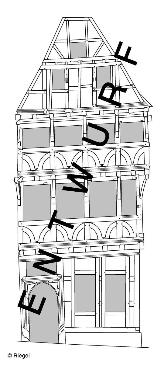 Grünberg Lutherhaus Südostfassade