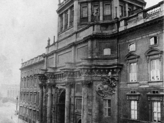Schlossfreiheit_Berliner Schloss_Eosanderportal_um 1865_01_