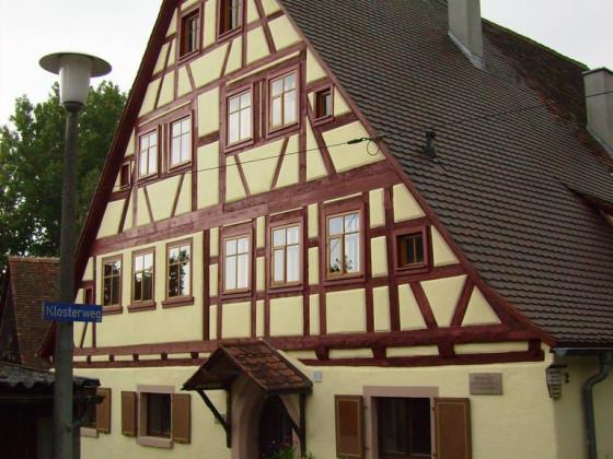 ehemalige Klostermühle von Kloster Sulz bei Feuchtwangen