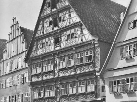 """das  """"Deutsche Haus"""" um 1950"""