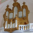 Orgel-Rekonstruktion von A. Silbermann ( Villingen )