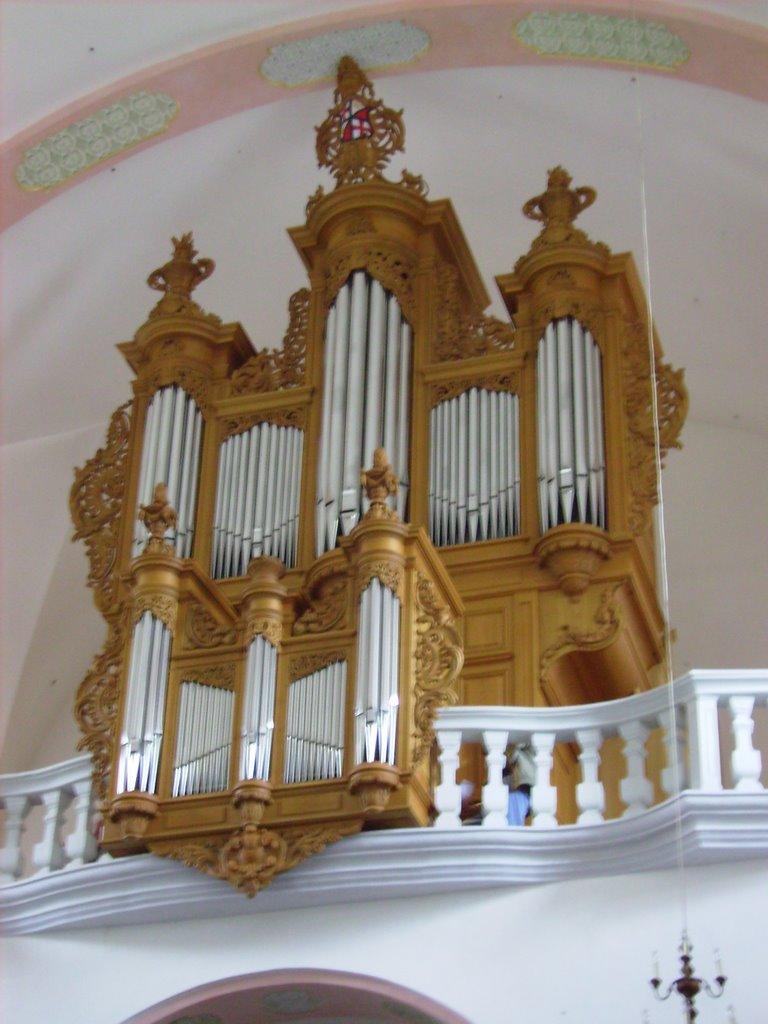 Benediktinerkirche Villingen, Rekonstruktion nach Joh. Andreas Silbermann ( 1752 Straßburg )