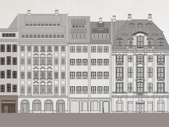 Dresden Stellwerk Eckhaus Alternative
