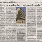 Pellerhaus Leserbrief Nürnberger Zeitung