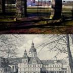 Schloss Neustrelitz Bildvergleich Tiergarten Hirschtor Stadtbild MST