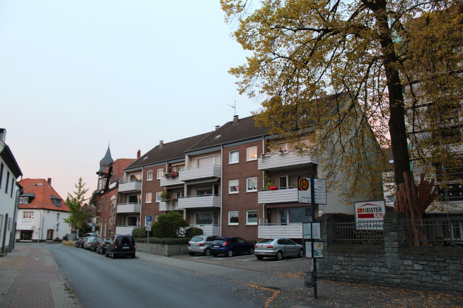 Straßenbild Thomästraße