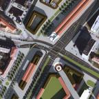 Pirnaischer Platz Luftbild